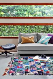 Rugs From Morocco Gorgeous Boucherouite Rag Rugs From Morocco The Interiors Addict