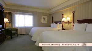 galt house hotel waterfront balcony two bedroom suite youtube