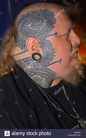 paul booth a man with face tattoos at the 16th annual new york