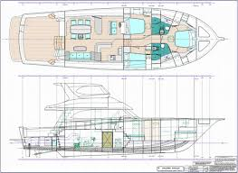monohull powerboat designs by lidgard yacht design