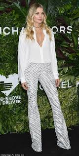 jessica hart attends golden heart awards in new york daily mail
