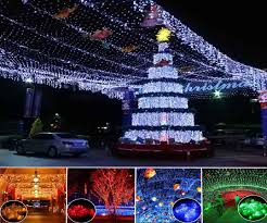 blue outdoor christmas lights christmas lights decoration