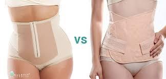 belly wrap belly wrap vs postpartum girdle bellefit postpartum girdles and