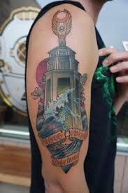 traditional lighthouse with bioshock infinite reference by nikki