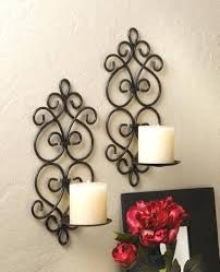 wall ideas decorative candle wall sconces for living room george