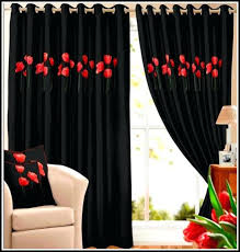 Black And Silver Curtains Black And Silver Curtains Collection In And Black Curtains