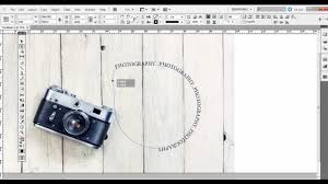 in design tutorials adobe indesign tutorial type on a path tool