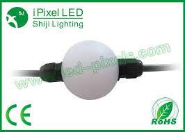 china ball video lighting ws2801 pixel dmx led light hanging 360 degree video curtain led