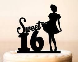 happy sweet 16 custom name cake topper sweet 16 birthday