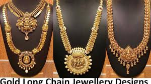 long chain fashion necklace images Gold long chain jewellery designs haram catalogue jpg