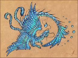 pinks dragon tattoo 2 water dragon tattoo design by alviaalcedo on deviantart
