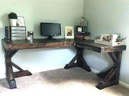 Desk L Diy Diy L Shaped Desk Plan L Shaped X Dasimperium Info