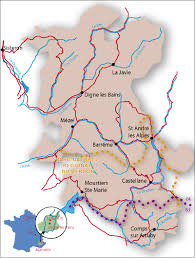 Provence France Map by Paleoparks The Protection And Conservation Of Fossil Sites