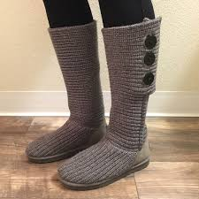 s cardy ugg boots grey 56 ugg shoes ugg cardy ii knit boot from susan s