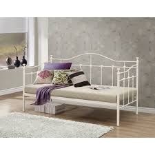 Metal Daybed Frame Archer Metal Daybed Frame Luxury Leather Beds Beds Co Uk The