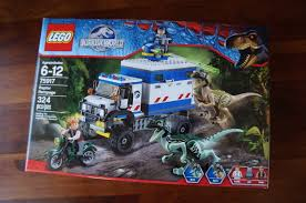 jurassic park car toy awesome toy picks lego jurassic world raptor rampage jurassic