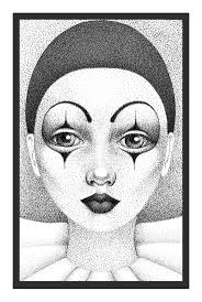 Halloween Makeup Clown Faces by 118 Best Art Pierrot Clowns And More Images On Pinterest