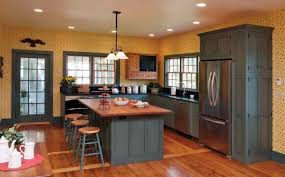 Gray Kitchen With Oak Cabinets Kitchen Fancy Kitchen Wall Colors With Oak Cabinets Kitchen Wall