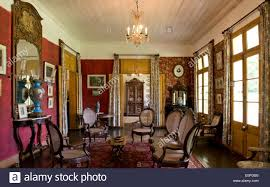 a sitting room inside eureka house a colonial style building
