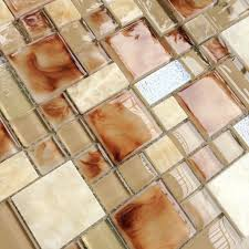 glass stone mosaic wall tile stone kitchen backsplash tiles