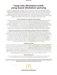 Best Resume Malaysia by Mcdonald U0027s Malaysia Hits Back At Boycott With An Ad Marketing