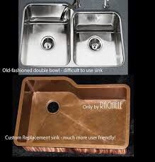 can you replace an undermount sink replacement custom copper sinks for discontinued kitchen sinks