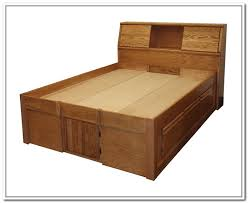 King Size Bed Frame With Storage Drawers Plans Storage Decorations by King Storage Bed Frame Plans Storage Decorations