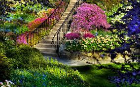Pictures Of Garden Flowers by Hd Garden Wallpaper Wallpapersafari