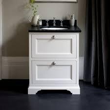 65 Bathroom Vanity by Burlington 65 Freestanding Vanity Unit With Two Drawers Uk
