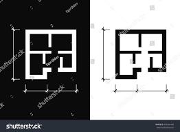 Icon Condo Floor Plan by Floor Plan Icon Stock Vector 498366448 Shutterstock