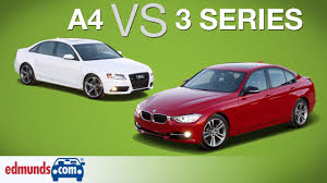 audi a4 vs bmw 3 series edmunds a luxury sedans
