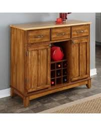 Kitchen Island With Wine Rack - bargains on home styles large wood server kitchen island server