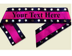 personalized sashes personalized sashes at best price in india