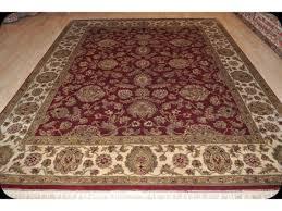 Handmade Wool Rug Elegant Persian Victorian Design Fine Quality Handmade Wool Rug 8