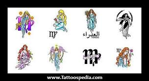 virgo sun sign tattoos