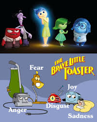 Brave Little Toaster Movie Brave Little Toaster Characters As Pixar U0027s Inside Out Emotions