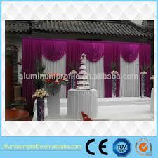 wedding backdrop kits white fireproof velvet cloth white leds backdrop wedding backdrop