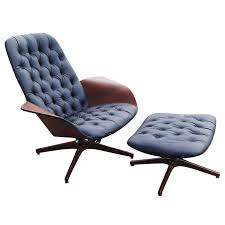 george mulhauser for plycraft lounge chair and ottoman lounge