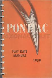 1959 pontiac repair shop manual original catalina bonneville star