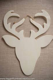 modern reindeer ornament tutorial