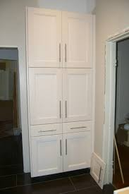 kitchen cool white wooden kitchen pantry cabinet design ideas for