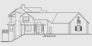 Luxury House Plans With Basements by Country Luxury House Plan Master On The Main Bonus 3 Car Garage
