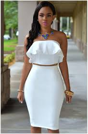 white dresses 2 wear way suits women strapless casual clubbing dress playsuit