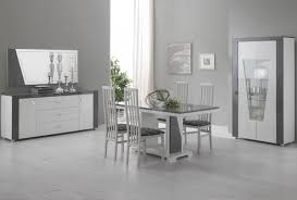 Meuble Salle A Manger Blanc Laque by Emejing Salle A Manger Gris Laque Photos Amazing House Design