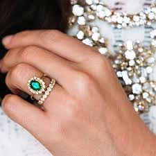 and emerald engagement rings best emerald engagement rings popsugar middle east