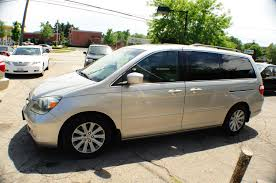 2005 honda odyssey silver touring used mini van sale