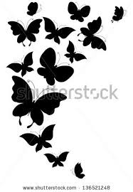 butterflies design stock vector 136521248