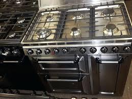Smeg 110 Gloss Black Induction Smeg Tr4110p1 Range Cooker 110 Oven Black