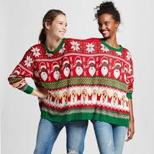 s 2 person sweater osfm xhilaration juniors