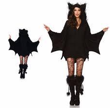 leg avenue cozy bat wings plush furry goth women u0027s halloween